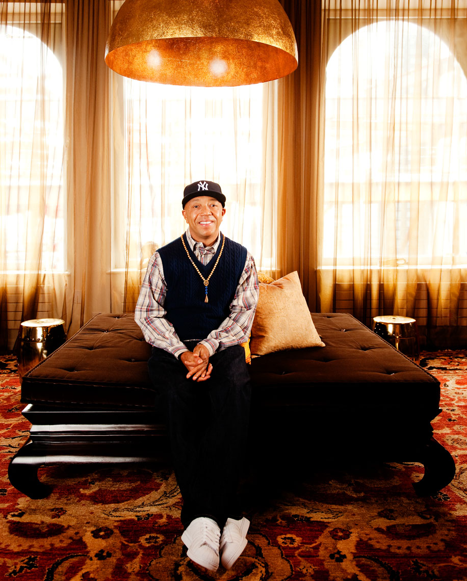 Russell Simmons - New York Celebrity Portraits