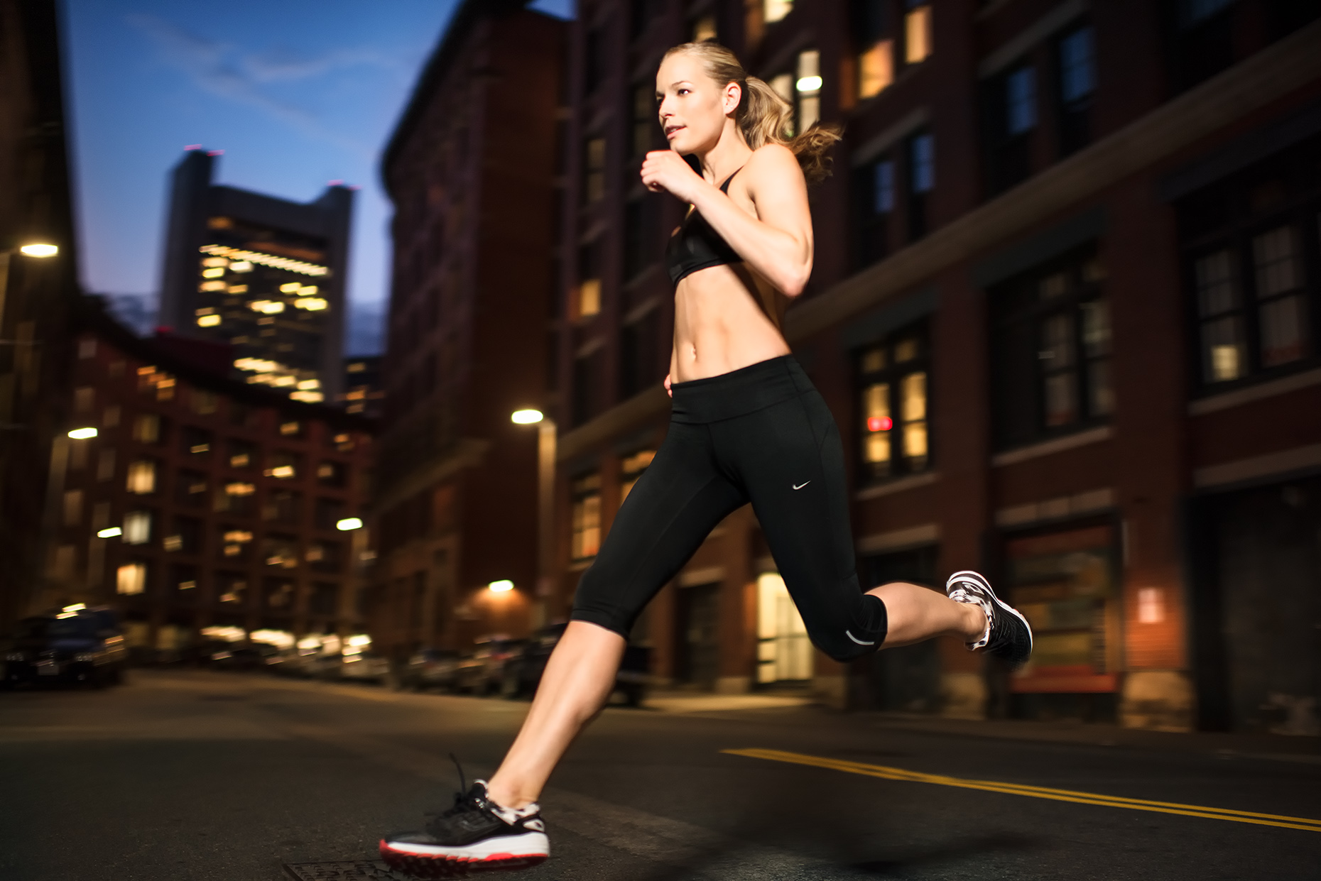 New York Fitness Running Photographer