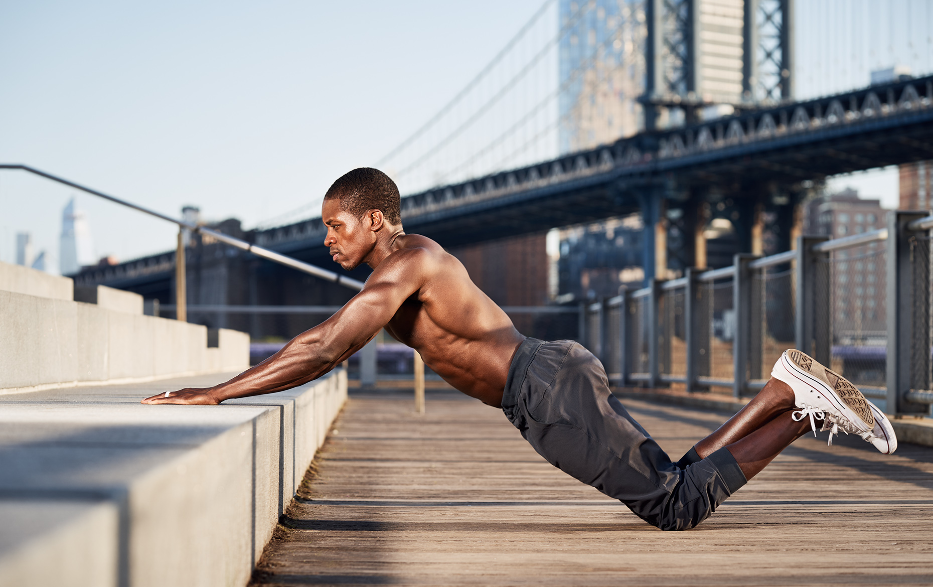 New York Fitness Sports Advertising Photographer