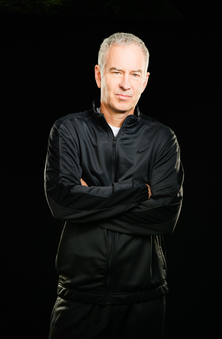 John McEnroe - New York Sports Portraits