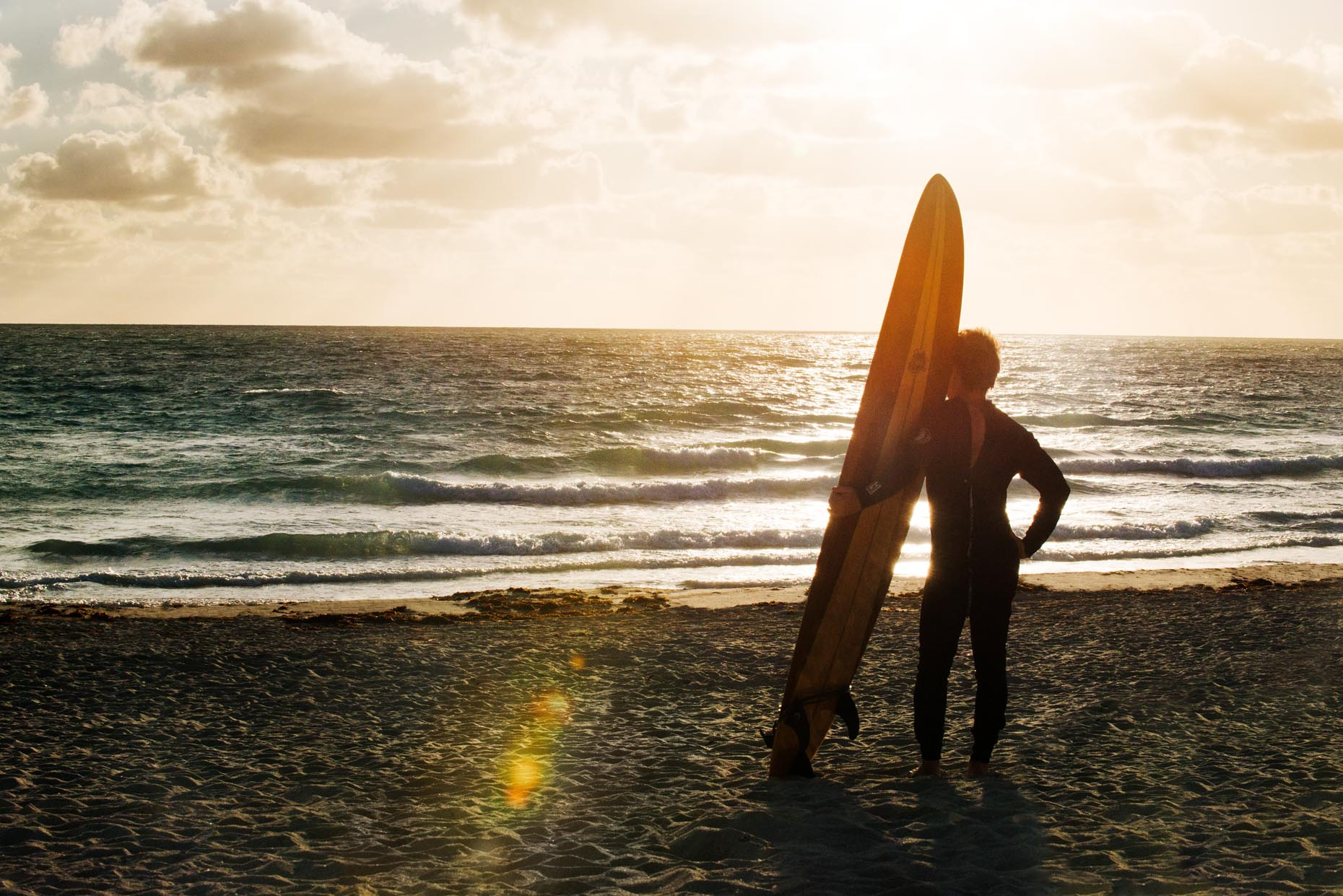 Surfing Beach Lifestyle Photography