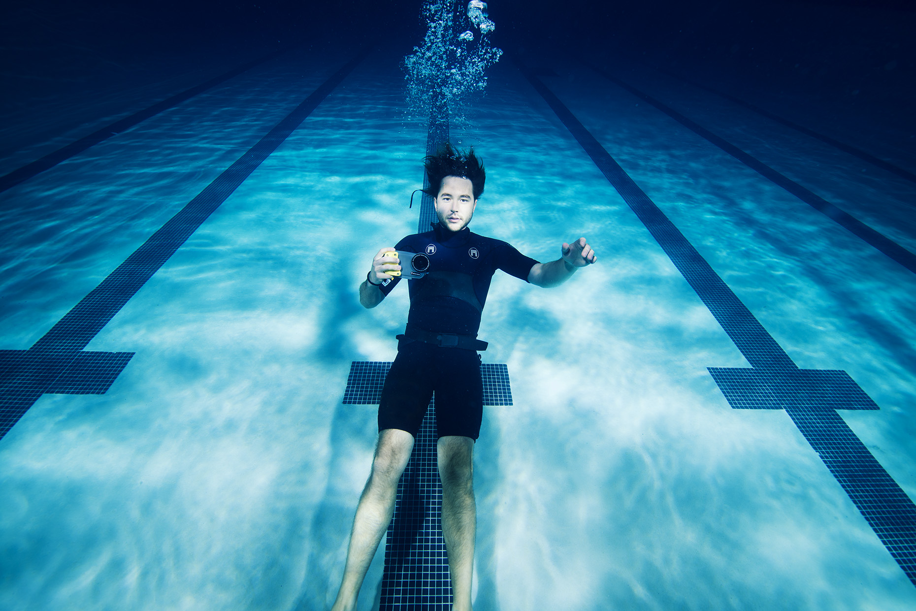 New York Underwater Portrait Lifestyle